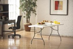 2 Pack of Sturdy 6ft Foldable Plastic Tables For Parties, Pr