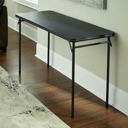 4 Foot Folding Table Small Portable Tall Lightweight Utility