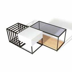 Sauder 416906 Boutique Coffee Table, Mixed