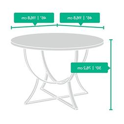 Sauder 418696 Round Table, Dining Cannery Bridge Pecan Dinet