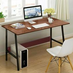 "47"" Computer Desk PC Laptop Study Writing Table Workstation"