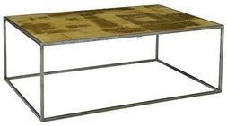 """47"""" L Martin Coffee Table Modern Contemporary Steel Exposed"""