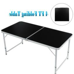 4FT Portable Folding Table Indoor Outdoor BBQ Picnic Party C
