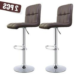 Set of 4 Stunning Dining Side Chairs Leather Dining Room Fur