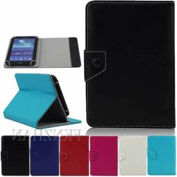 "For 7"" 8"" 9.6"" 9.7"" 10.1"" Inch Android Tablet Universal Leat"
