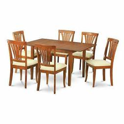 7-piece Dinette Set for Small Spaces-Small Kitchen Table and