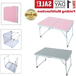 Aluminum Folding Table Portable Indoor Outdoor Picnic Party