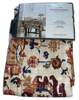 """Threshold  Autumn Floral  Oblong 60"""" x 84"""" Tablecloth Kitche"""