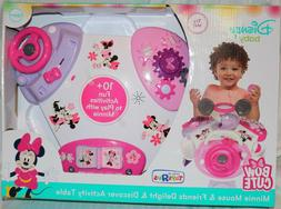 Baby activity table for girls Minnie Mouse Delight AND Disco