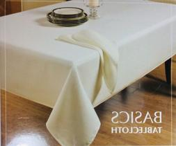 """Benson Mills Basics Solid 70"""" x 70"""" Square Tablecloth in"""