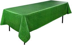 BEIS-54532-Beistle Soccer Ball Tablecover, 54 by 108-Inch, G