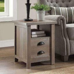 Better Homes And Gardens Granary Modern Farmhouse End Table,