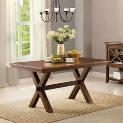 Better Homes and Gardens Maddox Crossing Dining Table, Brown