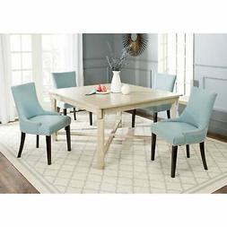 Safavieh Bleeker White Washed Dining Table - 0 Washed 0