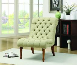 Coaster Home Furnishings Casual Accent Chair, Light Brown/Ye