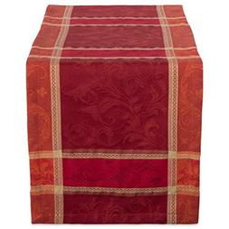 """DII 14x72"""" Cotton Table Runner, Harvest Wheat - Perfect for"""