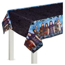 Descendants 3 Plastic Table Cover Girls Birthday Party Suppl