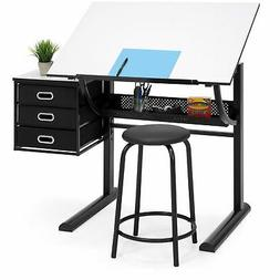 Best Choice Products Drawing Drafting Craft Art Table Foldin