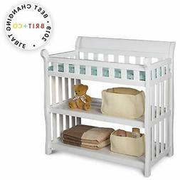 Delta Children Eclipse Changing Table, White Changing
