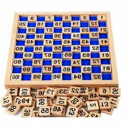 Educational Math Table Wooden Toys For Children Learning Woo