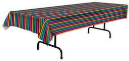 """Fiesta Party Table Cover 54"""" X 108"""" Mexican Disposable Table"""