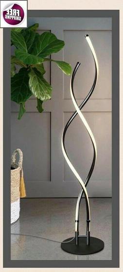 Floor Table Lamp LED Lighting  Modern Contemporary Touch Scr