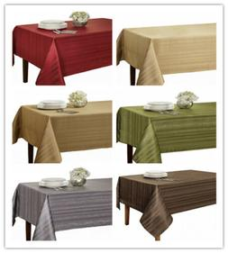 """Benson Mills Flow """"Spillproof"""" Fabric Tablecloth,3 sizes: 60"""