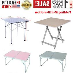Folding Table Portable Indoor Outdoor Picnic Party Dining Ca