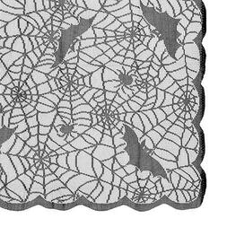 Darice Halloween Lace Tablecloth: 60 x 84 inches w