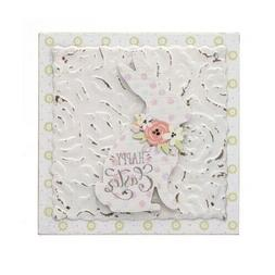 Darice Happy Easter Table Decor: MDF, 5 x 5 inches
