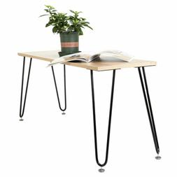 """Hot Coffee Metal Table Desk Hairpin Legs 16"""" Set of 4 Solid"""