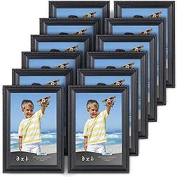 - Icona Bay 4x6 Picture Frames  Set, Wall Mount Or Table Top