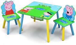Delta Children Kids Chair Set and Table , Peppa Pig