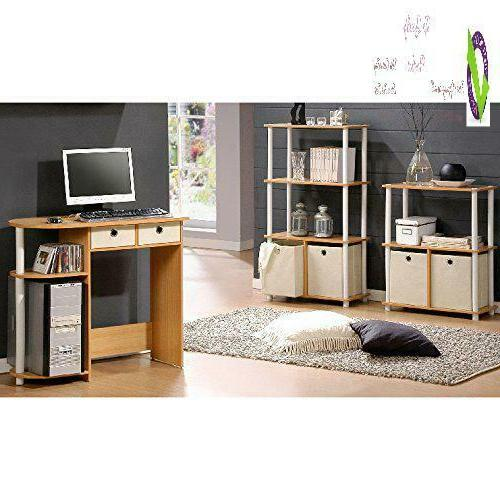 Furinno 11193Be/Wh/Iv Home