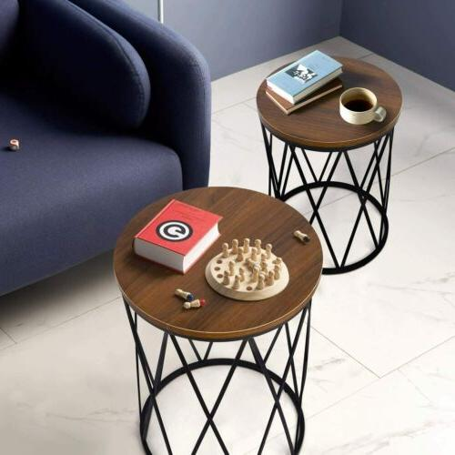 2 End Tables Top Home