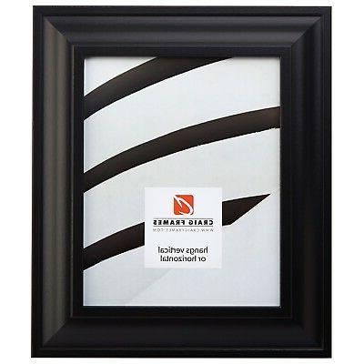 2 wide modern black wall decor picture