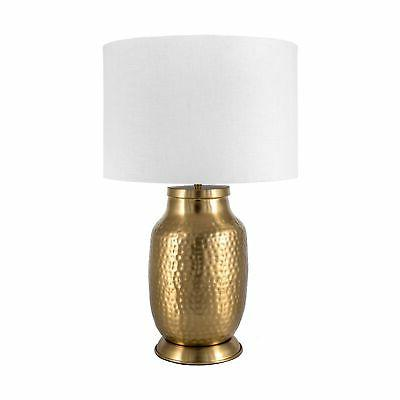 nuLOOM Iron Shade Brass Table