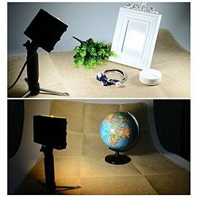 2Sets LED Portable Photography Table Filters