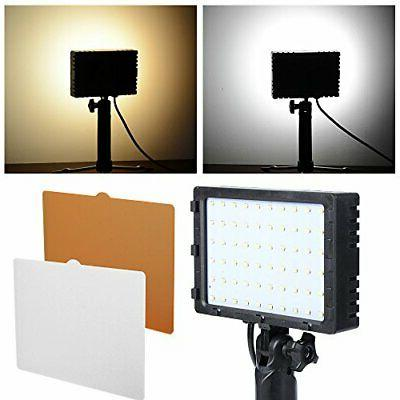 2Sets LED Photography Light Kit Table Top w/ Filters