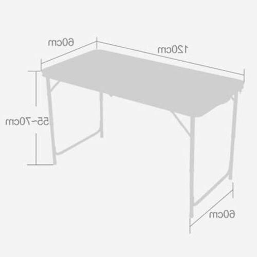 Aluminum Table 4'Portable Indoor Outdoor Camping Tables NEW