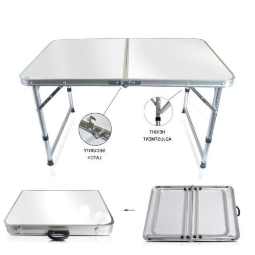 Aluminum Table Indoor Outdoor Picnic Party Camping Tables NEW