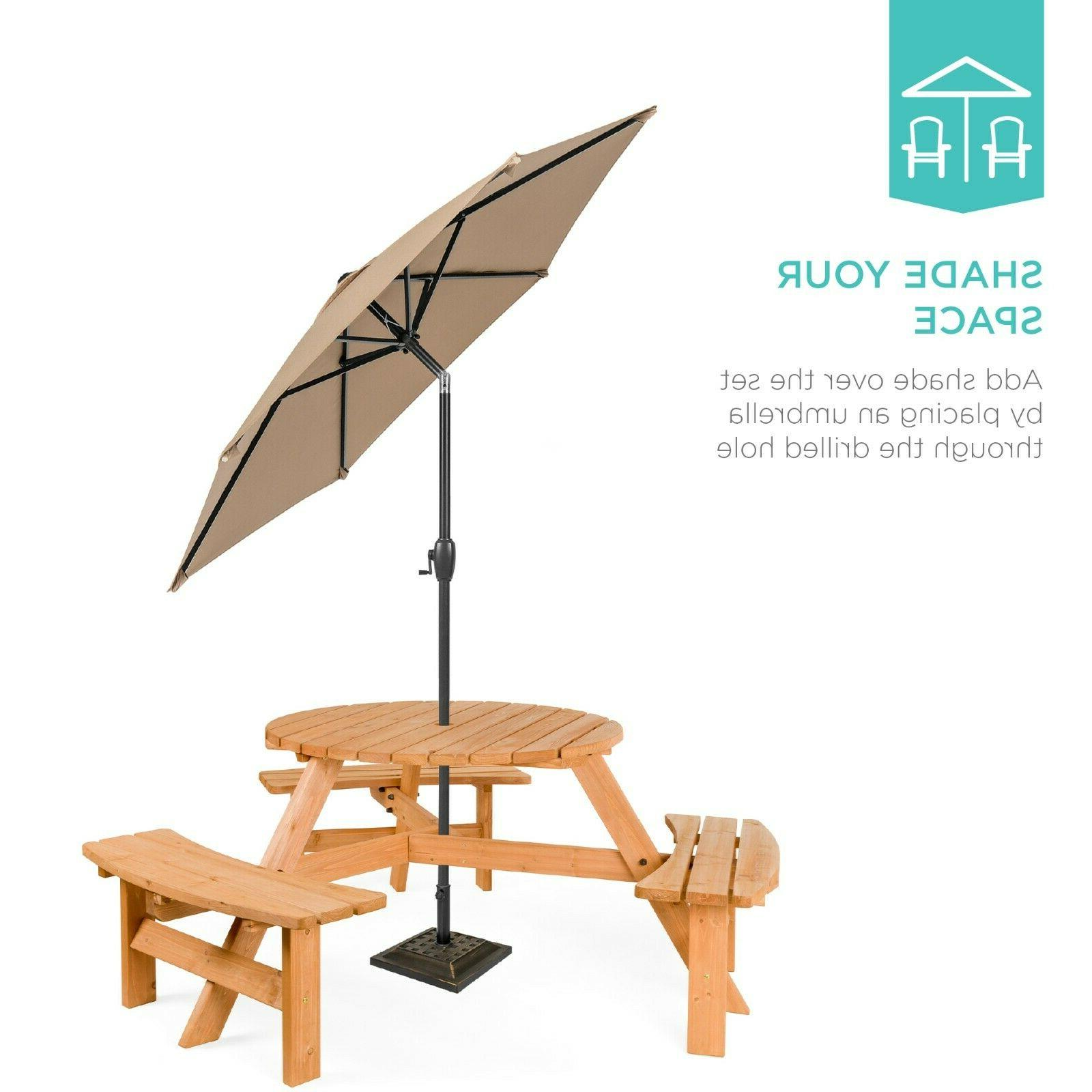 Best Choice Circular Outdoor Picnic Table