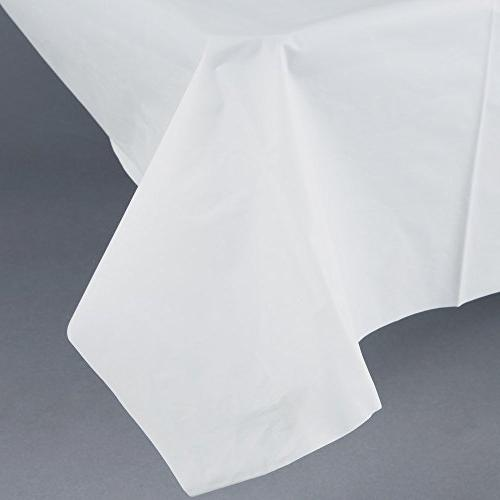 """Disposable Table Plastic 53"""" 108"""""""
