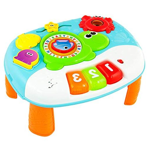 Activity Year Old 2-in-1 Baby Interactive with Fun Ocean for