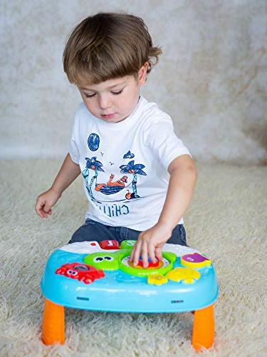 Activity for 1 Year and 2-in-1 Baby Interactive Learning Toy Piano with for Toddlers