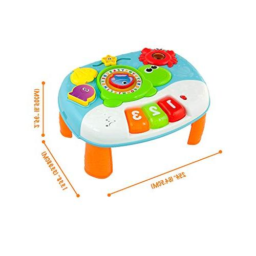 Activity for 1 Year 2-in-1 Activity Center. Interactive with Ocean for and Kids