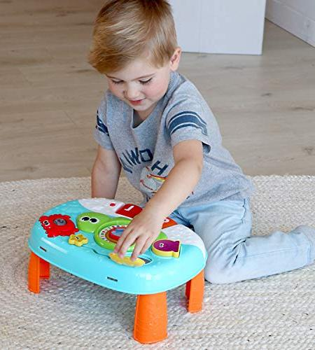 Year Old 2-in-1 Baby Activity Interactive Learning with Ocean Characters for Toddlers and