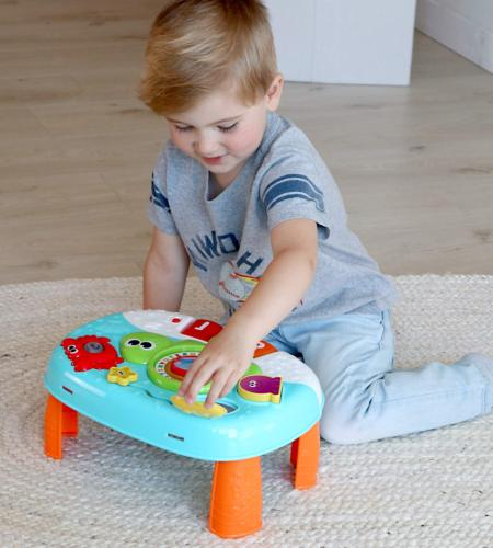 Activity Table Year Old and Up. 2-in-1 Standing Center. Toy
