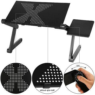 Adjustable Folding Computer Tray For
