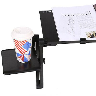 Adjustable Laptop Desk Portable Folding Computer Stand Tray For Bed